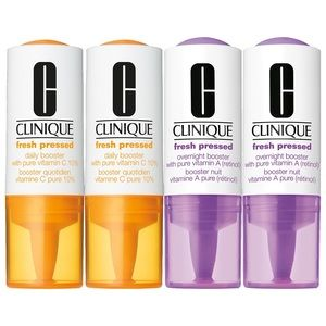 CLINIQUE Fresh Pressed Daily + Overnight Boosters
